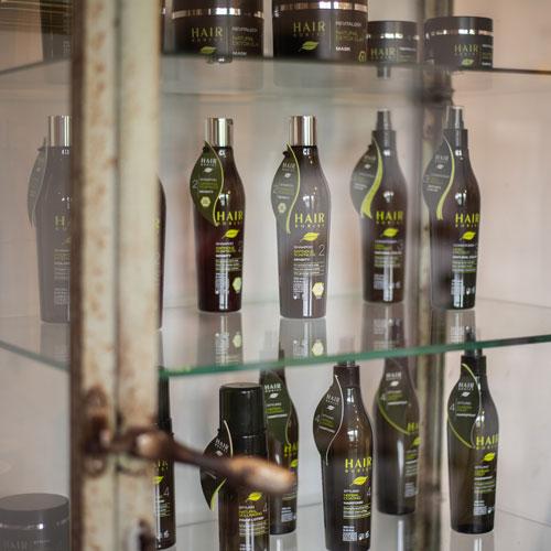De productlijn van Hairborist wordt voorgesteld in knapsalon